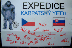 Expedice Karpatský Yetti 22.11.2009