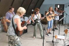 Koncert v parku Javorka v Č.Třebové 9.8.2007